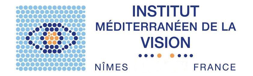 Logo de l'Institut Méditerranéen de la Vision